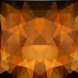颜色三角抽象背景  免版税图库摄影