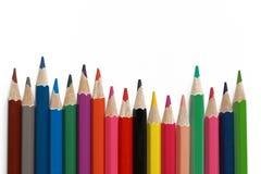 颜色书写调色板 免版税库存照片