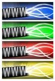 颜色互联网差异电汇 图库摄影