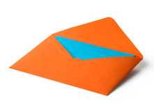 颜色信包 免版税库存照片