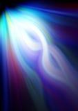 颜色光芒 免版税库存图片