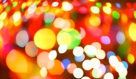 颜色光被弄脏的bokeh背景,未聚焦 库存照片