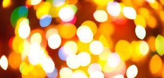 颜色光被弄脏的bokeh背景,未聚焦 图库摄影