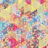 颜色几何背景 库存图片