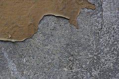 颜色剥落的墙壁 免版税库存照片