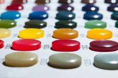 颜色取样器 免版税库存照片