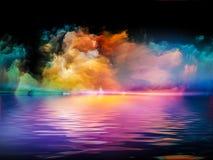 颜色变化  免版税库存照片