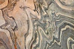 颜色和灰色自然大理石石纹理 免版税库存照片