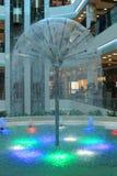 颜色喷泉 图库摄影
