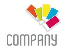 颜色图表商标模板 库存图片