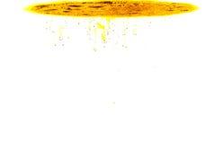 颜色在水中 免版税图库摄影
