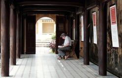颜色城堡,文化遗产,戴Noi,越南, ngo星期一 库存照片