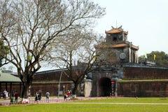 颜色城堡,文化遗产,戴Noi,越南, ngo星期一 免版税库存照片