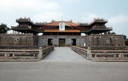 颜色城堡,文化遗产,戴Noi,越南, ngo星期一 库存图片