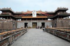 颜色城堡,文化遗产,戴Noi,越南, ngo星期一 免版税库存图片