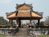 颜色城堡,文化遗产,戴Noi,越南, ngo星期一 免版税图库摄影