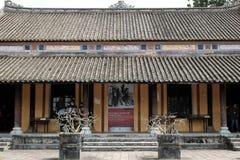 颜色城堡,文化遗产,戴Noi,越南, ngo星期一 图库摄影
