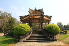 颜色城堡,越南 库存图片