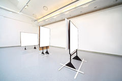 颜色大照片空间显示白色 免版税库存照片