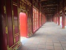 颜色寺庙  免版税库存照片