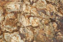 颜色岩石纹理 库存图片