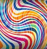 颜色异想天开的漩涡  免版税库存照片
