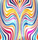 颜色异想天开的漩涡  免版税库存图片