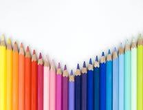 颜色彩虹 免版税库存照片