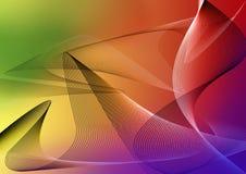 颜色彩虹 免版税库存图片