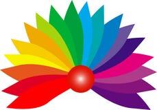 颜色彩虹 库存照片