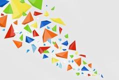 颜色抽象背景 库存图片