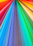 颜色指南特写镜头 免版税库存图片