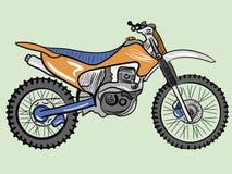 颜色摩托车 库存图片