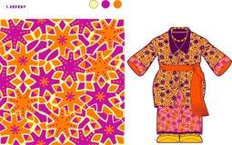 颜色改变的细胞样式 免版税库存图片