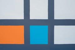 颜色方形的背景 库存照片