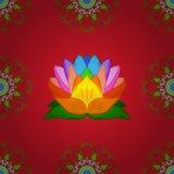 颜色春天题材无缝的样式背景 皇族释放例证