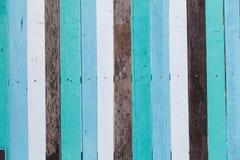 颜色木头墙壁 免版税图库摄影