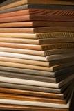 颜色木头 免版税库存照片