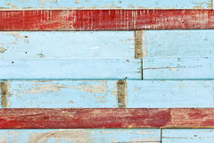 颜色木纹理 免版税库存图片