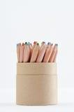 颜色杯子铅笔 库存照片