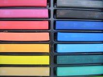 颜色柔和的淡色彩 免版税库存照片