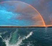 颜色查出对象彩虹通知 免版税库存照片