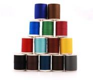颜色查出空白短管轴的线程数 库存图片