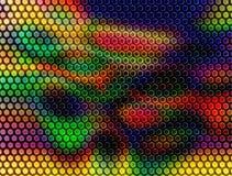 颜色栅格样式背景 免版税图库摄影