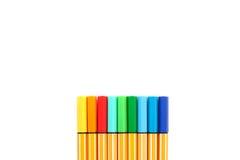 颜色标记 免版税库存图片