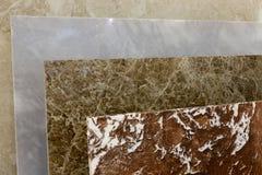颜色样式花岗岩平板 免版税库存照片