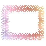 颜色框架 免版税库存图片