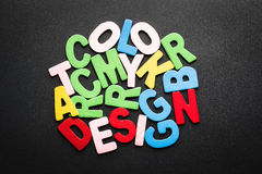 颜色概念 图库摄影