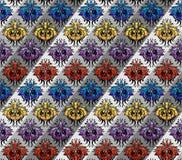 颜色模式丝绸 免版税库存照片