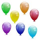颜色气球 库存图片